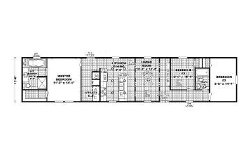 EDG16723A Floorplan