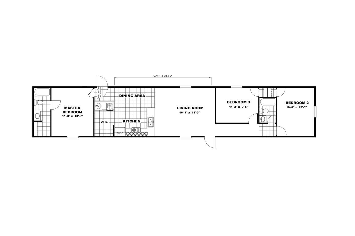 Glory Floorplan