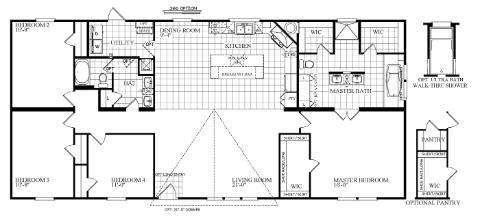 Drake Floorplan