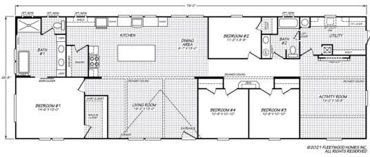 The Sandalwood XL Floorplan