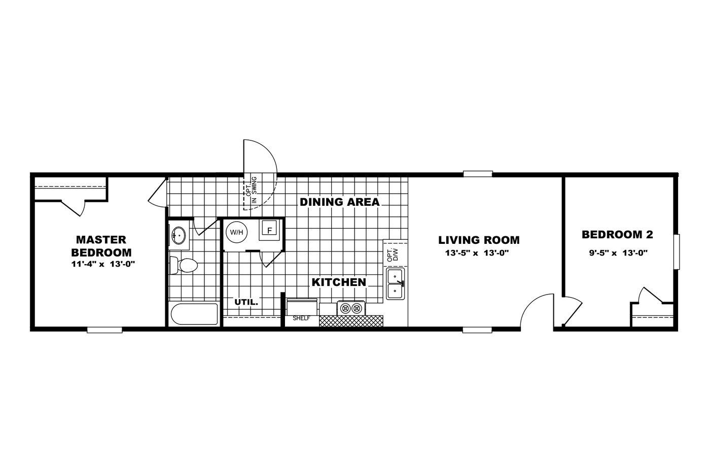 Bliss Floorplan