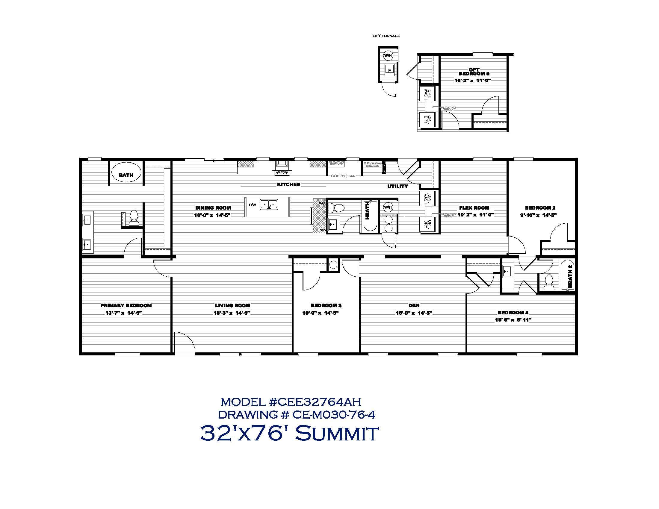 The Summit Floorplan