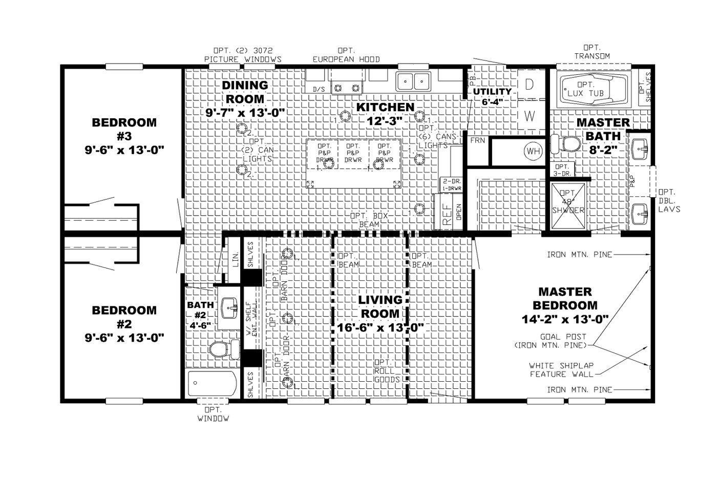 The Burton Floorplan