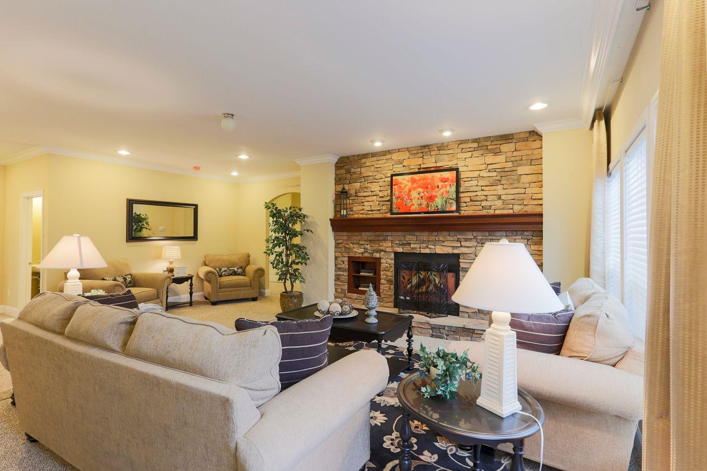 The Jefferson Living Room