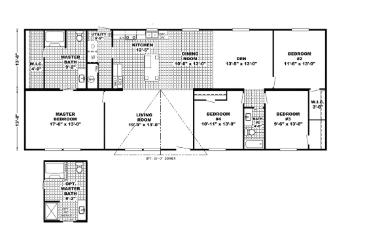 Adams Floorplan