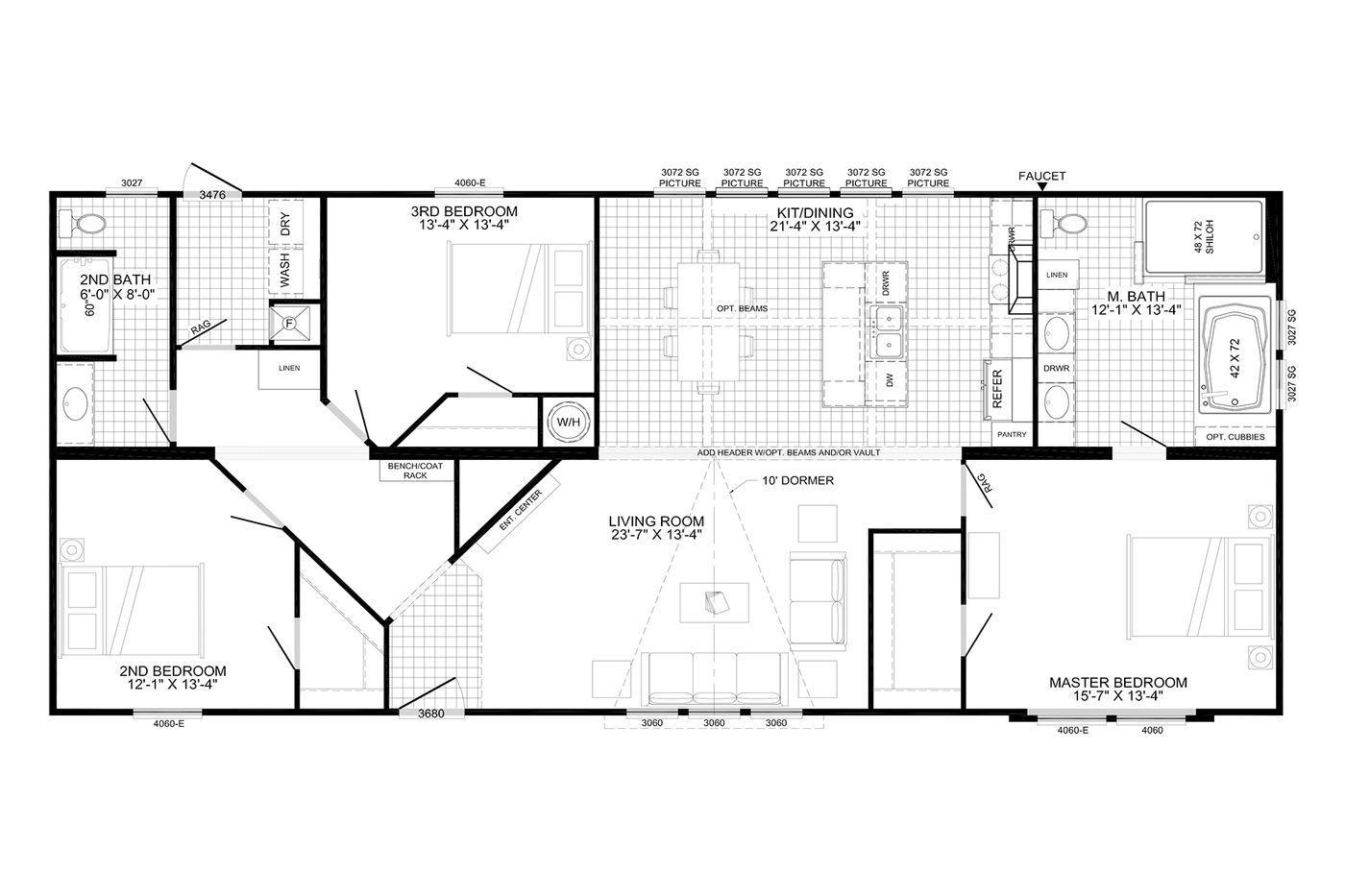 The Avalyn Floorplan