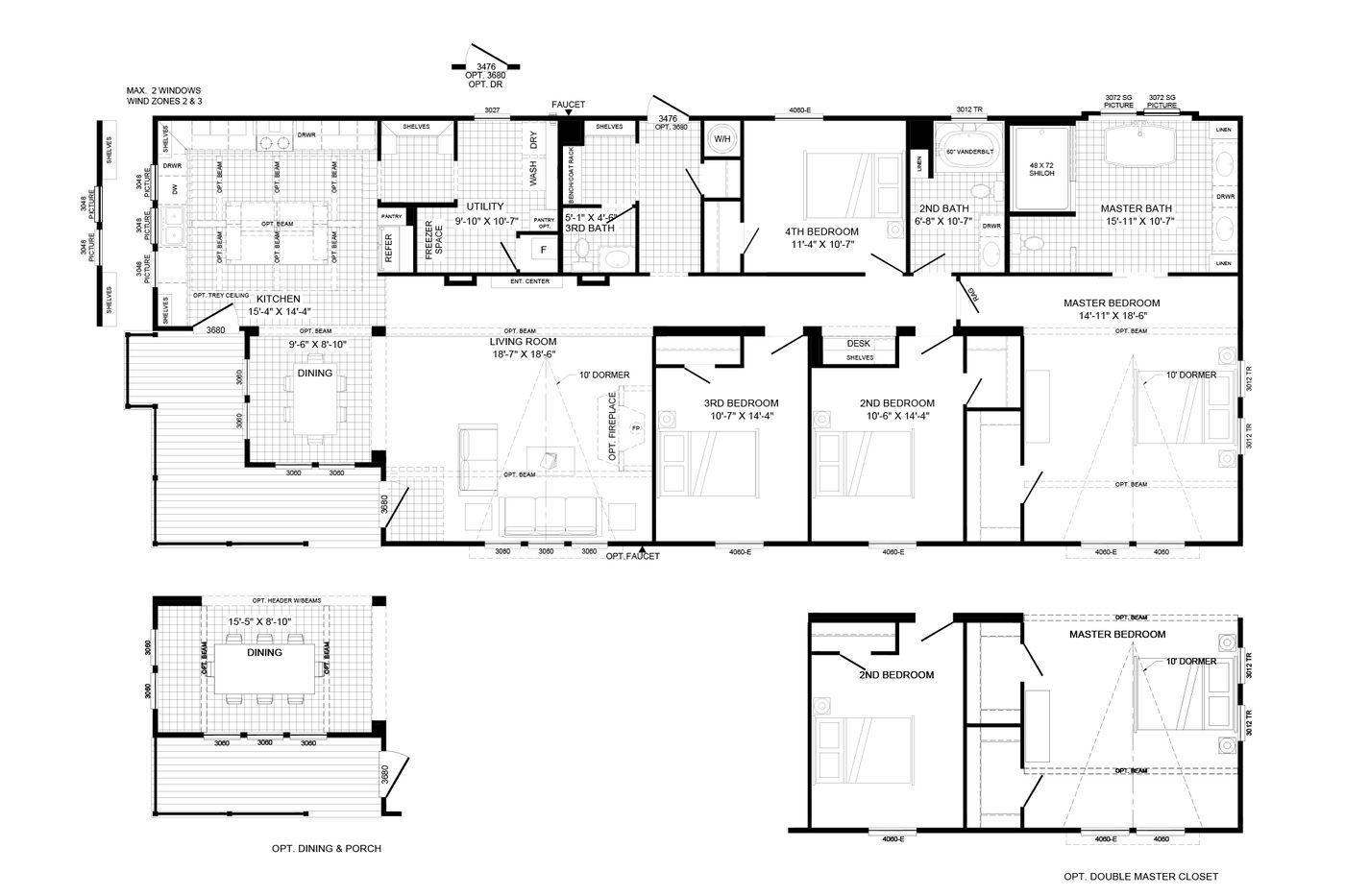 The Lulabelle Floorplan