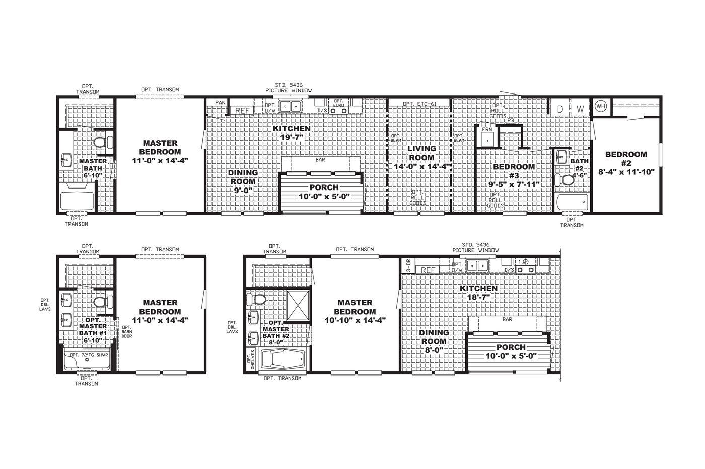The Ranch House Floorplan