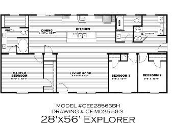 The Explorer - COMING SOON!!!! Floorplan