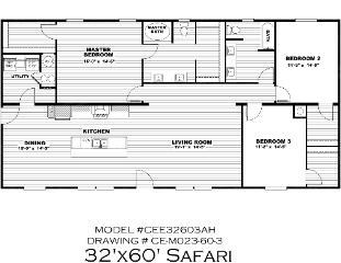 The Safari - COMING SOON!!!! Floorplan