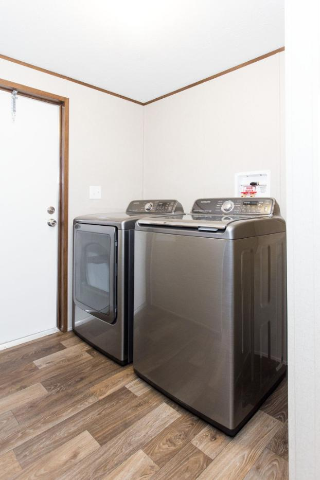 The Satisfaction Laundry Room