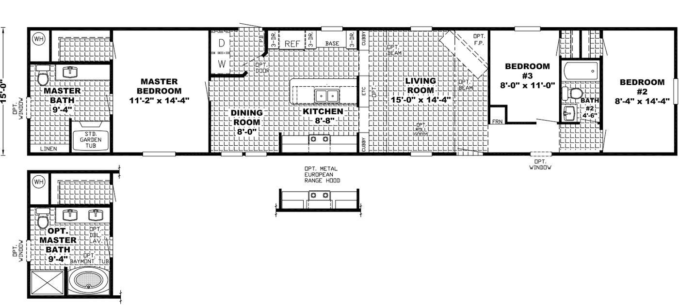 The Clearview Floorplan