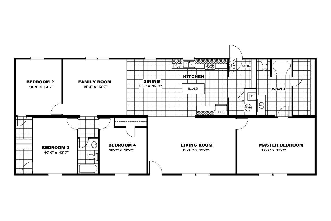 The Pride Floorplan